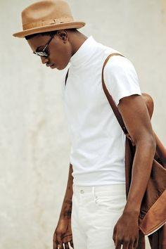 Wear white all winter.