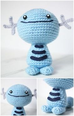 Here we have shared a grand list of free crochet amigurumi patterns that all makes perfect cuddly toys and can also be used as best lovey to your babies!Crochet Wooper Amigurumi