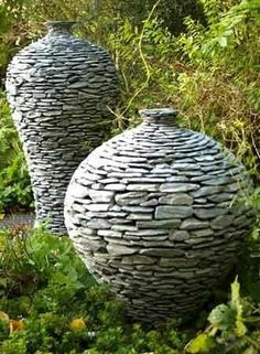 Made out of stone...