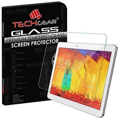 From 6.99 Techgear Samsung Galaxy Note 10.1 2014 Edition (sm-p600 / Sm-p605) Glass Edition Genuine Tempered Glass Screen Protector Guard Cover