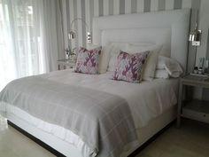 Resultado de imagen para respaldos de cama tapizados modernos