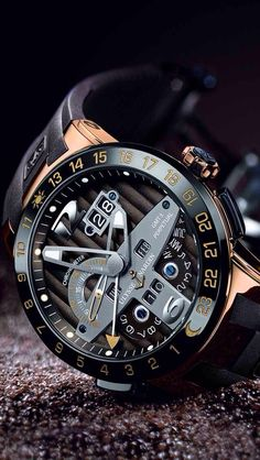Ulysse Nardin luxury mechanical chronograph - #watch #watches #menswatch #chronograph #fashion