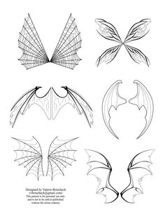 wing templates