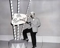 Jerry Haynes as Mr. Peppermint in a 1961 file photo.