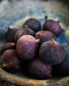Fresh figs are so madingly good!