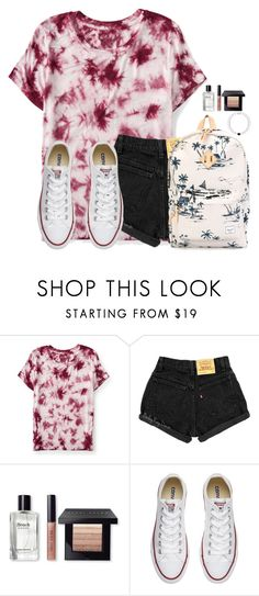 """Only two days until the weekend!!"" by victoriaann34 ❤ liked on Polyvore featuring Aéropostale, Bobbi Brown Cosmetics, Converse and Herschel Supply Co."