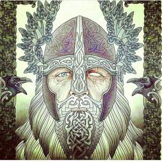 Odin artwork.