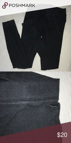 Black leggings by Victoria's Secret Pink small Black leggings by Pink Victorias Secret PINK Victoria's Secret Pants Leggings