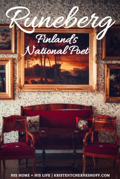 Looking for something different to do while visiting Helsinki? Take a trip to Porvoo and visit the home of Runeberg, Finland's National Poet! | Finland | Runeberg | Nordic | Helsinki Day Trip