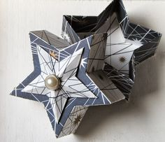 Hannas Art: Starbox oder befüllbare Sternschachteln