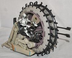 Hasbro STAR WARS Episode III ROTS General Grievous' Wheel Bike Vehicle from 2004