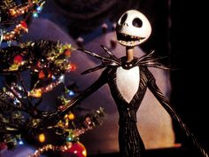 """""""There's children throwing snowballs,   Instead of throwing heads.  They're busy building toys,  And absolutely no one's dead!"""" Christmas Town blows Jack Skellington's mind in The Nightmare Before Christmas (1993)."""
