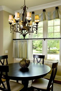 Ideas for kitchen window ideas curtains breakfast nooks round tables Cafe Curtains, Diy Curtains, Kitchen Curtains, Purple Curtains, Closet Curtains, Beige Curtains, French Curtains, Elegant Curtains, Double Curtains