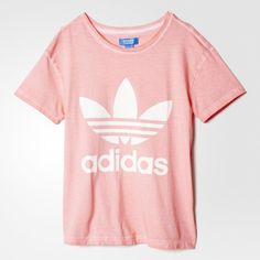 adidas Premium Essentials Washed T-Shirt - Peach Pink   adidas ...