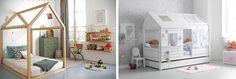 łóżko piętrowe z domkiem aranżacja - Szukaj w Google