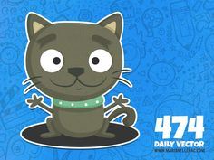 474 - Black cat (To see them all click on the image)