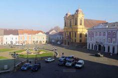 Parcare in Piata Unirii din Timisoara