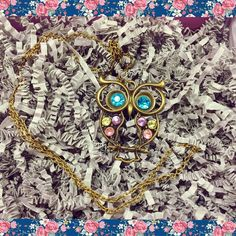 Cute long owl necklace-NWOT •cute owl necklace. New without tags. I never got around to wearing it but always kept it in my jewelry box.                                                                •no clasp it just fits right over your head. Longer length goes to about my chest area.                         *not forever 21 put that 4 exposure Forever 21 Jewelry Necklaces