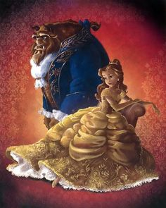 Disney Fairytale Designer Collection ~ Belle & the Beast