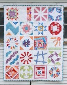 Craftsy BOM Sampler Quilt