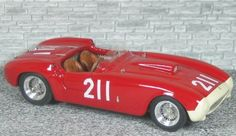 Ferrari 375 MM Spyder Pininfarina Winner Palm Spring 1955 #211 - Alfa Model 43