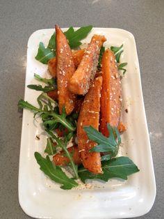 ShenleyMoore Professional Chef, roast honeyed sweet potato and dukkha