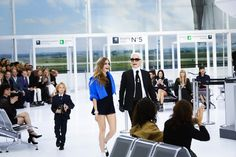 Chanel Fashion Show Ready to Wear Collection Spring Summer 2016 in Paris