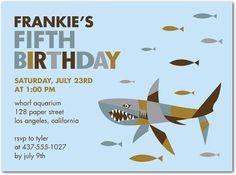 shark birthday party