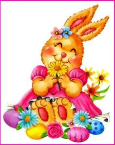 Happy Easter Blossoms (63 pieces)
