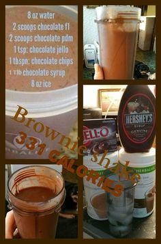 Brownie Batter Shake #Herbalife
