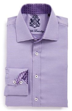 English Laundry Trim Fit Dot Dress Shirt available at #Nordstrom