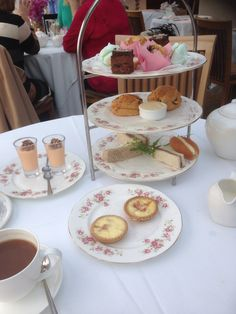 Afternoon Tea at Roslin Beach Hotel..Southend Essex UK.