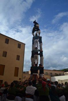 Castellers de Caldes - 3d7 - Caldes de Montbui 11/11/2012 Diada de la Colla