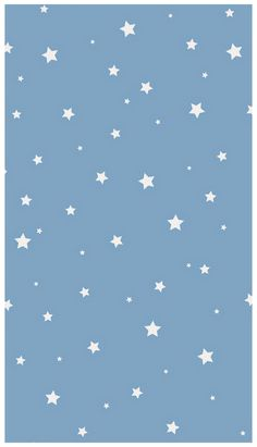 baby blue aesthetic wallpaper stars