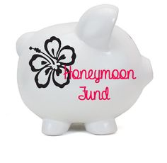 Personalized Piggy Bank -- Vacation Piggy Banks Personalized-Ceramic P – Hucklett's Creations