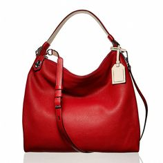 Reed Krakoff Standard Hobo II and other apparel, accessories and trends. Browse and shop 23 related looks. Hobo Purses, Hobo Handbags, Handbags Online, Fashion Handbags, Purses And Handbags, Fashion Bags, Big Purses, Red Fashion, Fashion Ideas