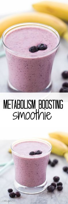 A healthy breakfast or snack to boost your metabolism and fill you up! You'll … A healthy breakfast or snack to boost your metabolism and fill you up! You'll never guess my secret ingredient - Fresh Drinks Best Smoothie Recipes, Smoothie Drinks, Shake Recipes, Juicer Recipes, Smoothie Cleanse, Blender Recipes, Jelly Recipes, Cleanse Detox, Juice Cleanse