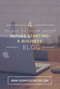 In order to have success when it comes to business blogging, you'll need to cover these 4 things first to develop a solid strategy. Things To Think About, Things To Come, Starting A Business, Blogging, Success, Cover, Tips, Counseling
