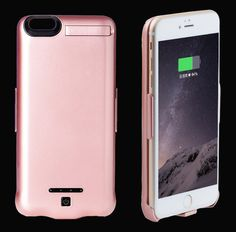 Charger case 10000mAh for iPhone 6,6S,6plus,6Splus,7,7plus Portable Ultra Thin Backshell wireless External Battery power bank //Price: $US $21.24 & FREE Shipping //     #iphone