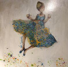 Kim Schuessler Mixed Media Art, Art Images, Moose Art, Decorating Ideas, Paintings, Usa, Gallery, Artwork, People