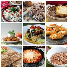 20 Low Fat Slow Cooker Recipes!!  Easy and low calorie -- perfect for this month!!