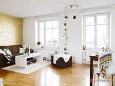 Интерьер маленькой квартиры.