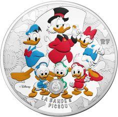 50 Euro Silber Dagobert Duck & Co. PP