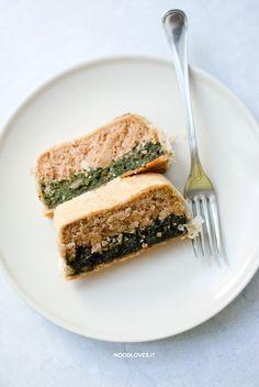Polpettone di tonno e spinaci, in crosta.