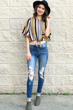 b9a30e668c0ab7 Good To Love Distressed Denim Jeans Distressed Denim Jeans