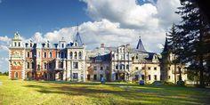 Ruiny Pałacu w Krowiarkach, powiat raciborski, gmina Pietrowice Wielkie (Polska)