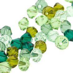 5328 4mm Swarovski Elements Crystal Mix - Clover | Fusion Beads
