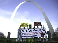 """Fight against Monsanto for East St Louis.The U.S. Department of Housing and Urban Development describes it as """"the most distressed small city in America."""" Monsanto and Pfizer are among the corps that dump their shit here. THESE POOR PEOPLE CANT EVEN GET AWAY! Read More http://www.thirdworldtraveler.com/Third_World_US/SI_Kozol_StLouis.html"""
