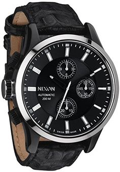 Now available Nixon Swiss Automatic Chronograph Limited Edition