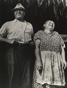 "© Jack Delano, 1940, Mr. and Mrs. Andrew Lyman, Polish tobacco farmers near Windsor Locks, Connecticut --- ""With mirth and laughter let old wrinkles come."" ― William Shakespeare"